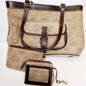 Authentic Vintage Dooney & Bourke Shoulder Bag